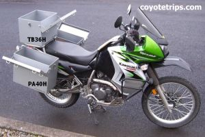 Motorcycle Aluminum Trunk