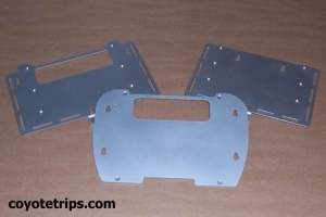 Motorcycle Top Case Adapter Plate