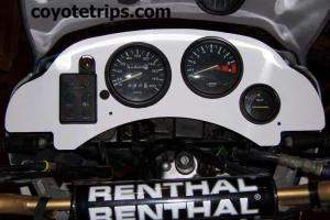 Honda Africa Twin RD03 with dashboard