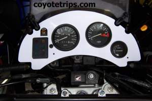 Dashboard for Honda XRV750 Africa Twin RD04