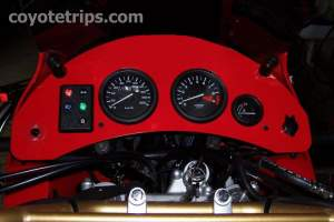 Dashboard for Honda XRV750 Africa Twin RD07A without Tripmaster
