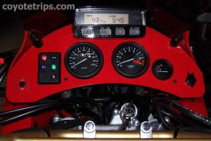 Dashboard for Honda XRV750 Africa Twin RD07A